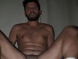 Hairy Argentinian Faggot Wrecking His Cunt