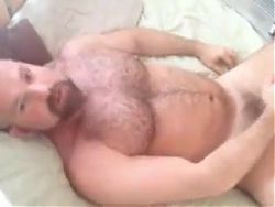 Bearded Hairy Cubs JACK OFF Using BBC DILDO and FLESHLIGHT